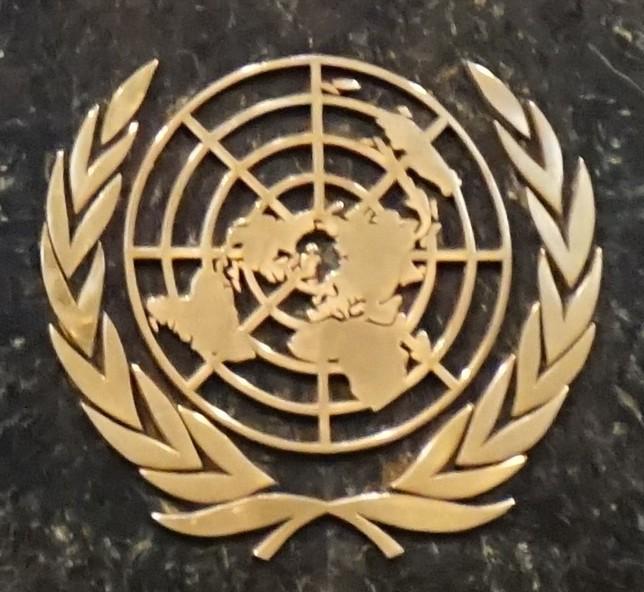 UN-Logo in NY