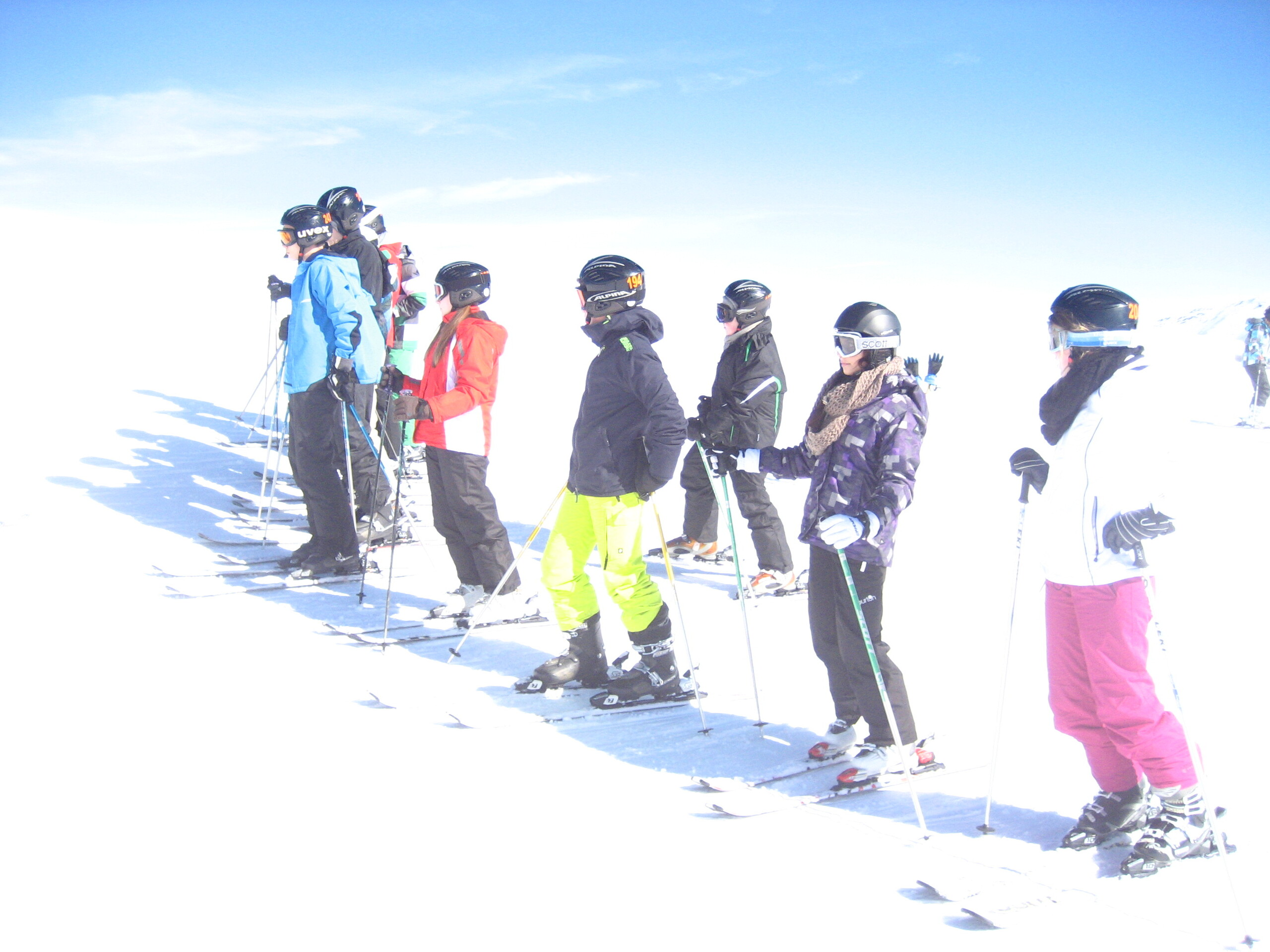 Ski-Klassenfahrt
