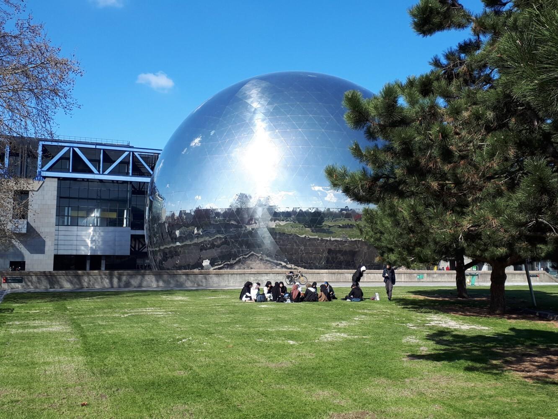 Glaskuppel in Paris