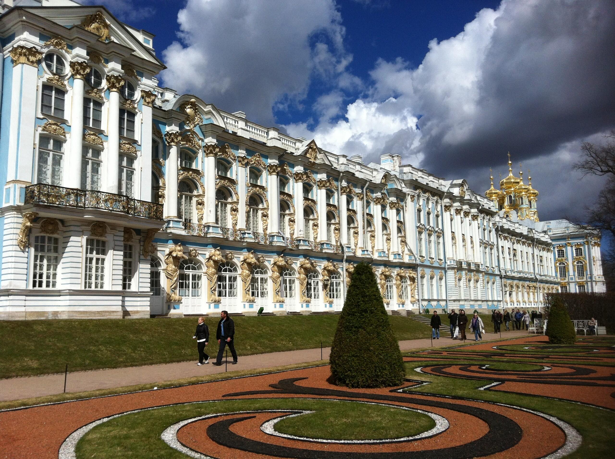 Schloss Peterhof in St. Petersburg