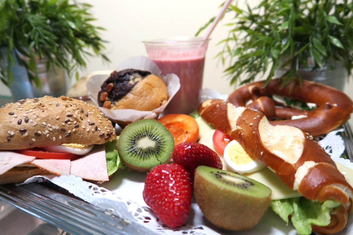 Schmackhafte Snacks in der Mensa